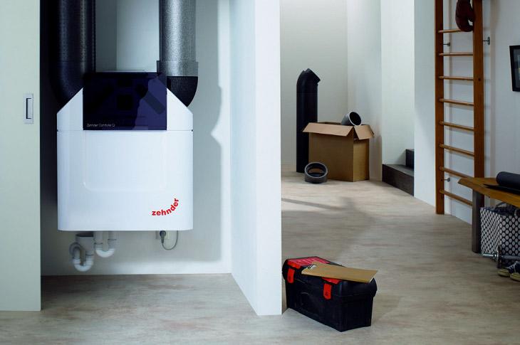 Sistema de ventilación mecánica para Casa Pasiva