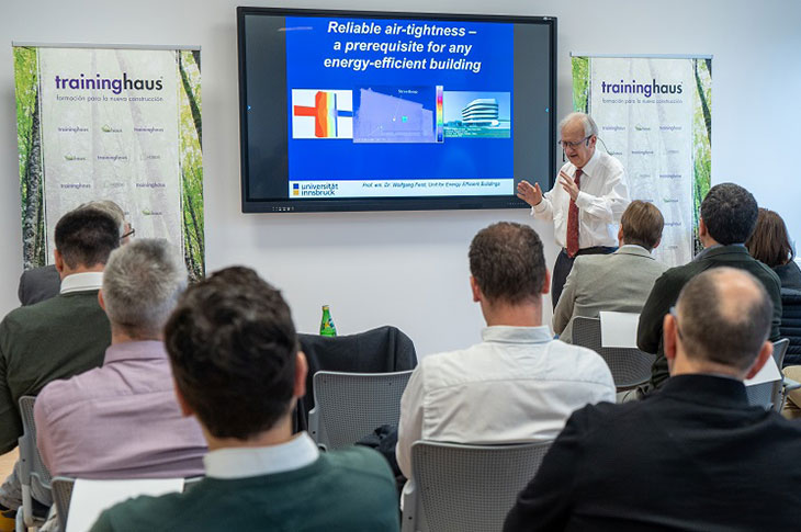 Navarra Building Forum, Wolfgang Feist