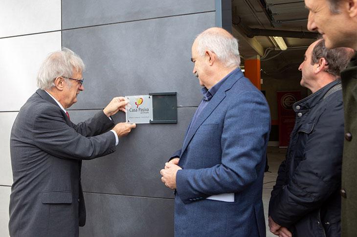 EN Navarra Building Forum, Wolfgang Feist inaugura en Mutilva edificios PassivHaus
