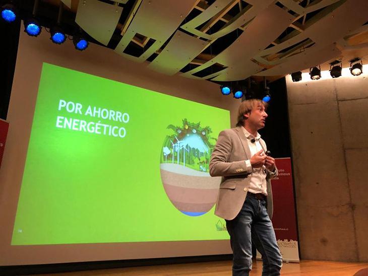 Onhaus en la conferencia chilena de passivhaus