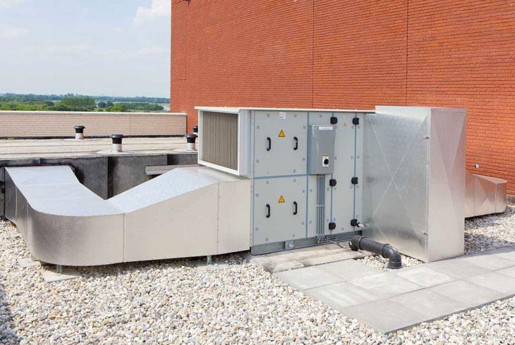 Sistemas de ventilación de edificios