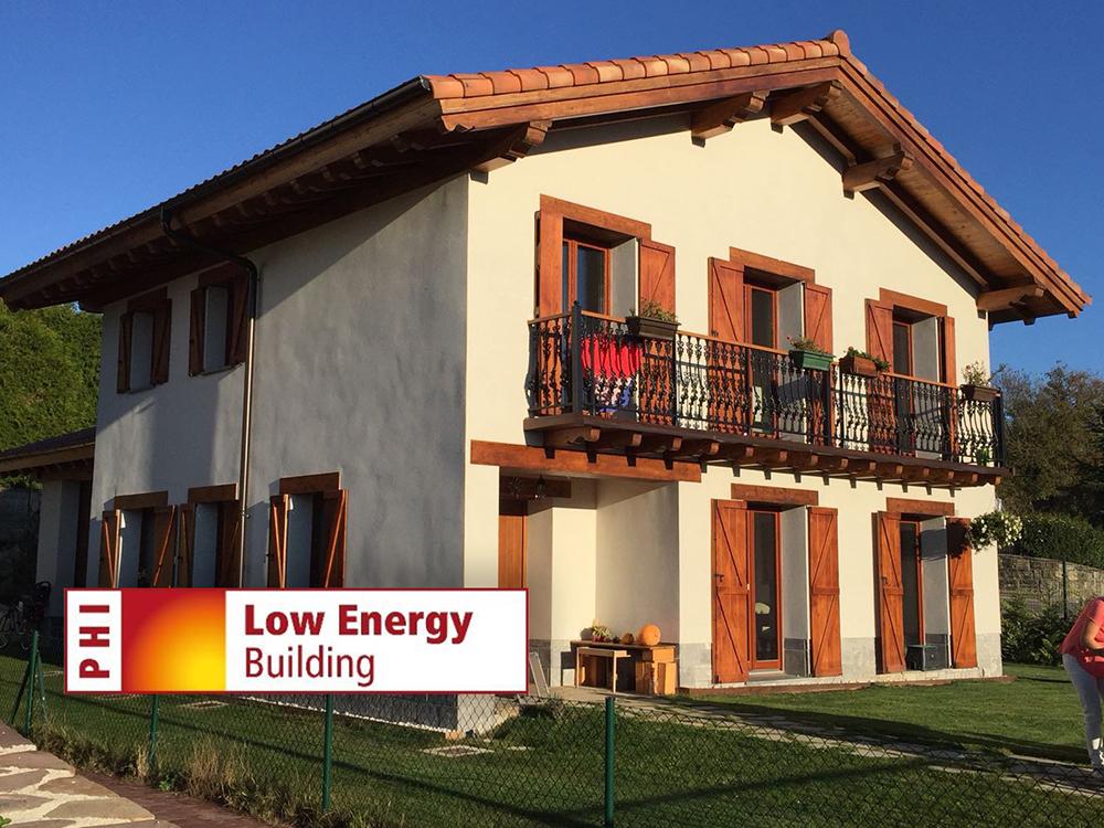 Casa Plazaola, primer Edificio de consumo de Energía Casi Nulo en España