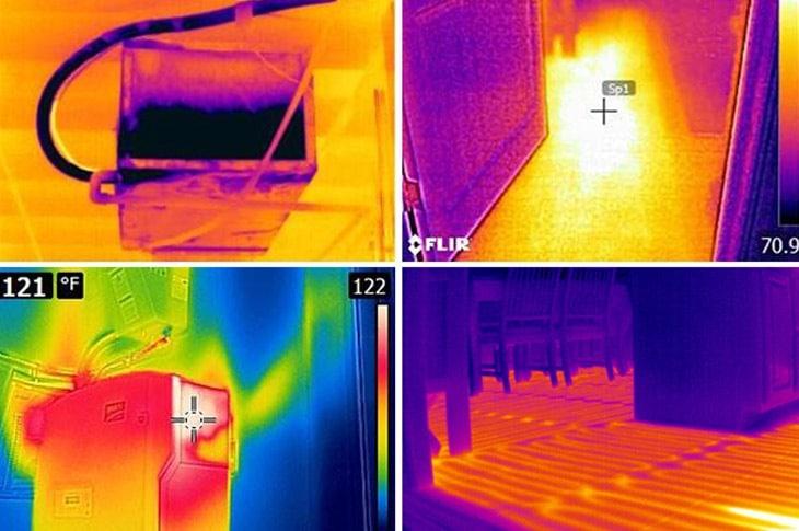 camaras termograficas construccion
