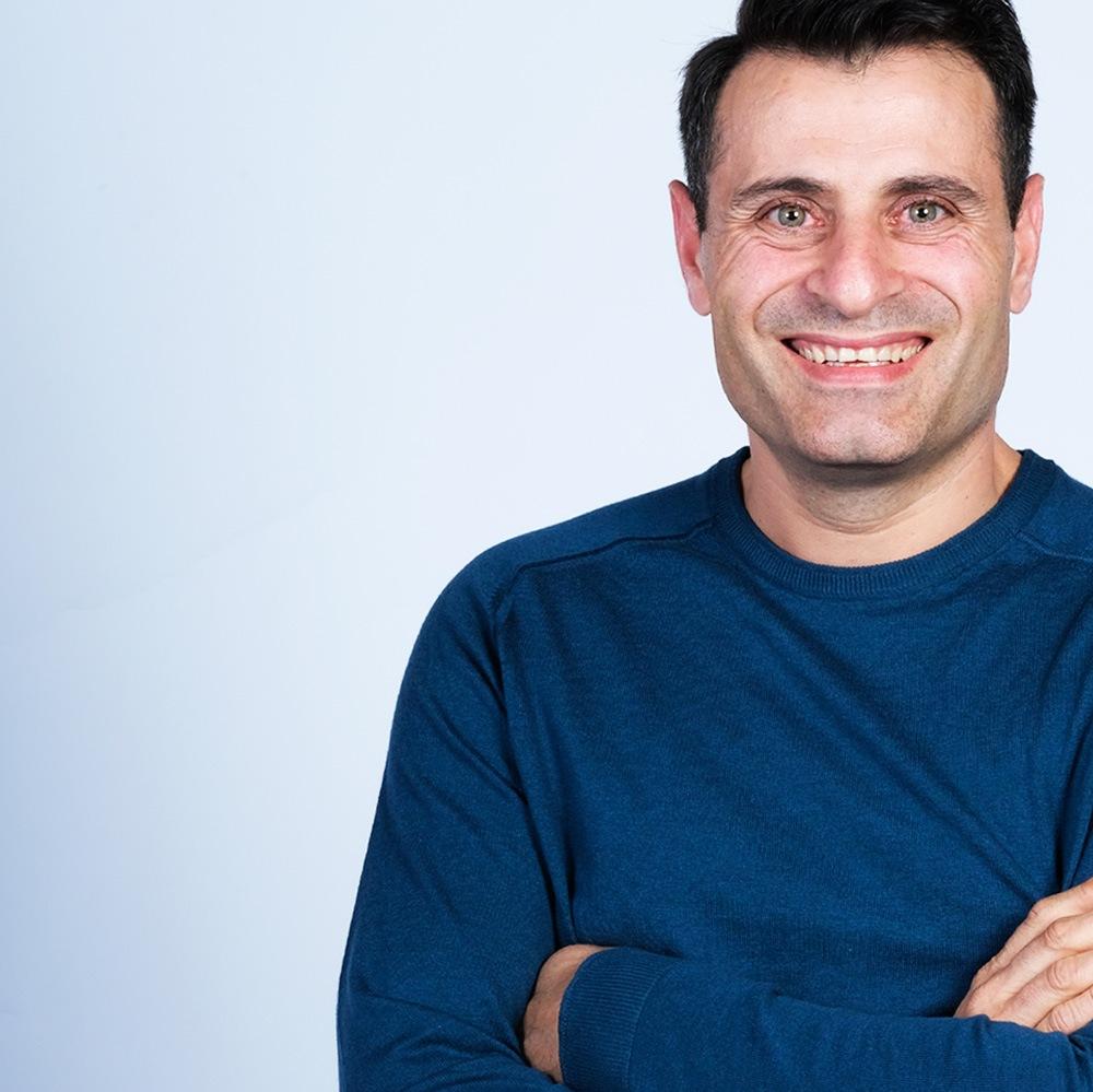 Retrato deMoisés Martín