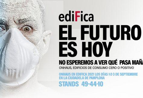 Imagen de la noticia Llevamos a EDIFICA 2021 algunas de las más innovadoras soluciones de diseño, producto y materiales en el sector de la nueva construcción